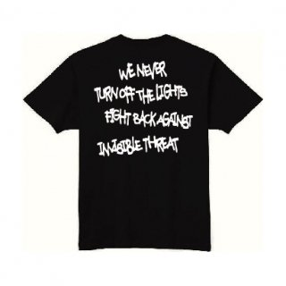 <img class='new_mark_img1' src='https://img.shop-pro.jp/img/new/icons1.gif' style='border:none;display:inline;margin:0px;padding:0px;width:auto;' />【LEFLAH】Message kids size tee(BLK)