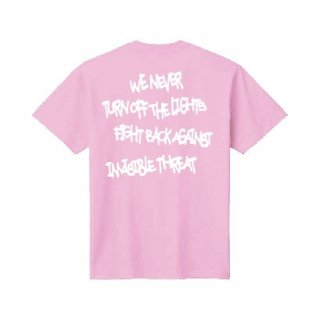 <img class='new_mark_img1' src='https://img.shop-pro.jp/img/new/icons1.gif' style='border:none;display:inline;margin:0px;padding:0px;width:auto;' />【LEFLAH】Message kids size tee(PNK)
