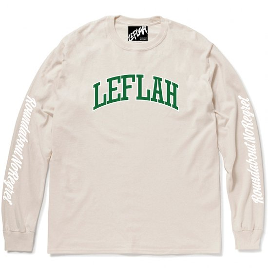 <img class='new_mark_img1' src='https://img.shop-pro.jp/img/new/icons2.gif' style='border:none;display:inline;margin:0px;padding:0px;width:auto;' />【LEFLAH】LEFLAH arch logo long tee(NAL)