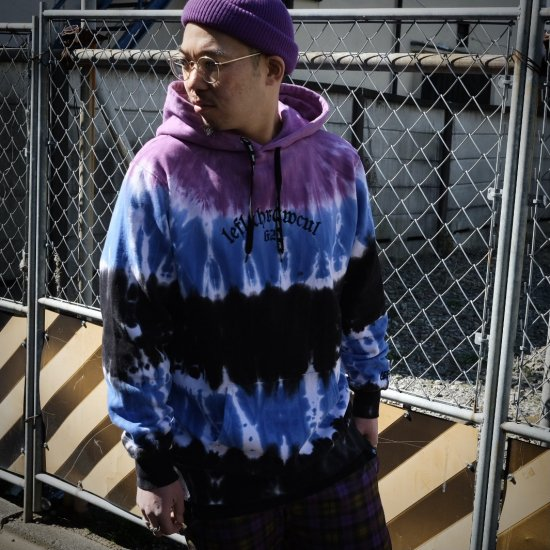 <img class='new_mark_img1' src='https://img.shop-pro.jp/img/new/icons1.gif' style='border:none;display:inline;margin:0px;padding:0px;width:auto;' />【LEFLAH】all day tie-dye parka (PPL)