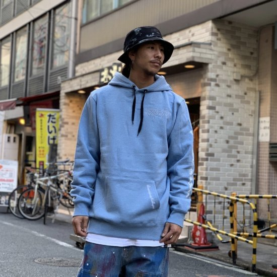 <img class='new_mark_img1' src='https://img.shop-pro.jp/img/new/icons1.gif' style='border:none;display:inline;margin:0px;padding:0px;width:auto;' />【LEFLAH】revolt logo parka(BLU)