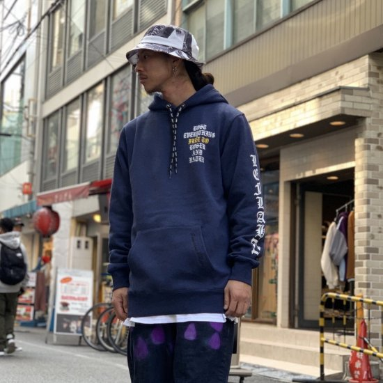 <img class='new_mark_img1' src='https://img.shop-pro.jp/img/new/icons1.gif' style='border:none;display:inline;margin:0px;padding:0px;width:auto;' />【LEFLAH】radiant logo parka(NVY)