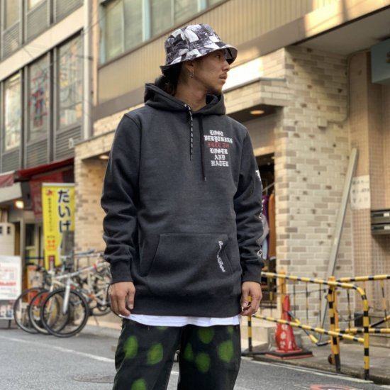 <img class='new_mark_img1' src='https://img.shop-pro.jp/img/new/icons1.gif' style='border:none;display:inline;margin:0px;padding:0px;width:auto;' />【LEFLAH】radiant logo parka(BLK)