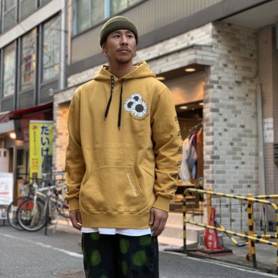 <img class='new_mark_img1' src='https://img.shop-pro.jp/img/new/icons1.gif' style='border:none;display:inline;margin:0px;padding:0px;width:auto;' />【LEFLAH】mum pigment dyed parka(YEL)