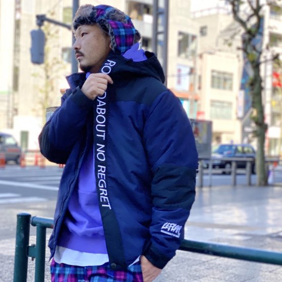 <img class='new_mark_img1' src='https://img.shop-pro.jp/img/new/icons1.gif' style='border:none;display:inline;margin:0px;padding:0px;width:auto;' />【LEFLAH】muted clr. mountain jacket (NVY)