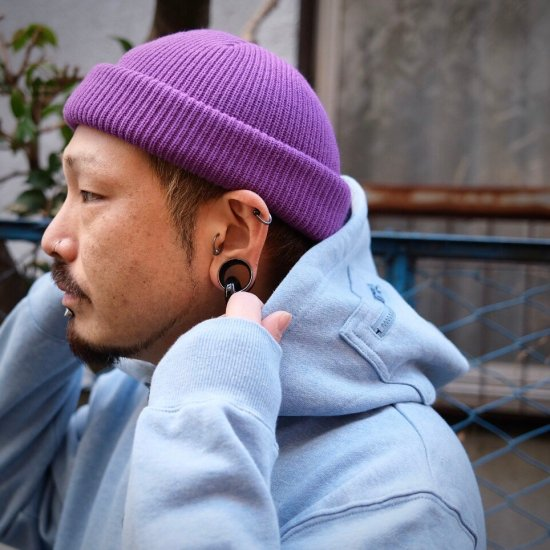 <img class='new_mark_img1' src='https://img.shop-pro.jp/img/new/icons1.gif' style='border:none;display:inline;margin:0px;padding:0px;width:auto;' />【LEFLAH】 color knit cap(PPL)