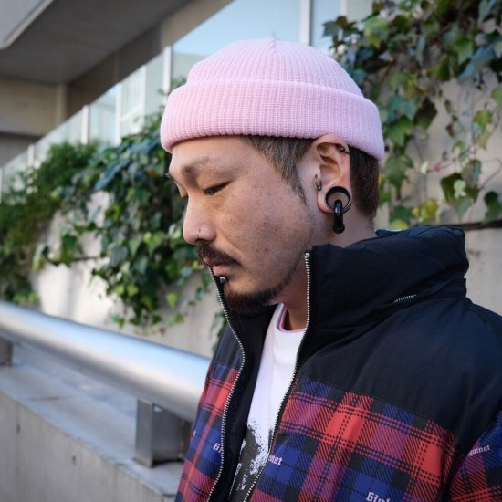 <img class='new_mark_img1' src='https://img.shop-pro.jp/img/new/icons1.gif' style='border:none;display:inline;margin:0px;padding:0px;width:auto;' />【LEFLAH】color knit cap(PNK)