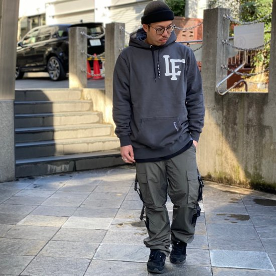 【LEFLAH】taslan adjustable belt cargo pants(CHA)