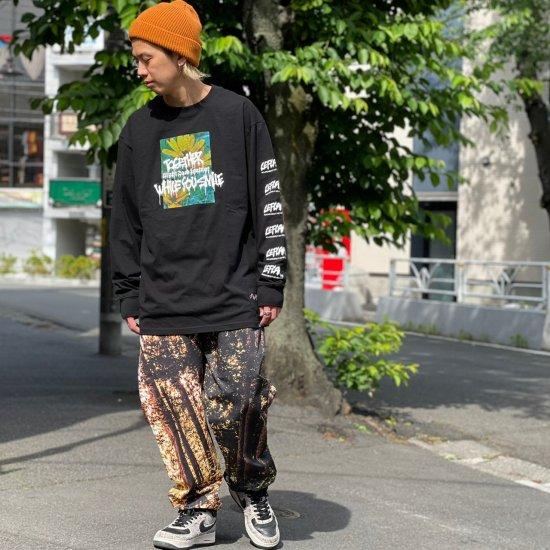 【LEFLAH】digital forest easy pants(BRW)
