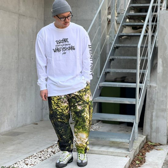 <img class='new_mark_img1' src='https://img.shop-pro.jp/img/new/icons1.gif' style='border:none;display:inline;margin:0px;padding:0px;width:auto;' />【LEFLAH】digital forest easy pants(GRN)