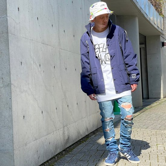 <img class='new_mark_img1' src='https://img.shop-pro.jp/img/new/icons1.gif' style='border:none;display:inline;margin:0px;padding:0px;width:auto;' />【LEFLAH】ripped damage skinny denim(BLU)