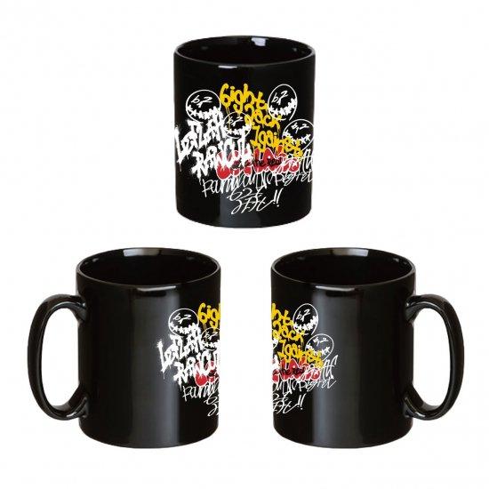 <img class='new_mark_img1' src='https://img.shop-pro.jp/img/new/icons1.gif' style='border:none;display:inline;margin:0px;padding:0px;width:auto;' />【LEFLAH】self graffiti mug cup (BLK)