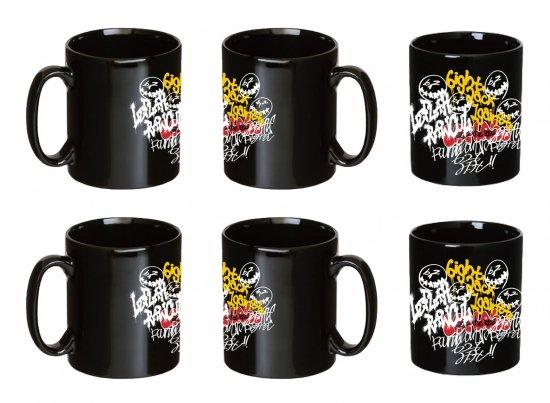 <img class='new_mark_img1' src='https://img.shop-pro.jp/img/new/icons1.gif' style='border:none;display:inline;margin:0px;padding:0px;width:auto;' />【LEFLAH】self graffiti mug cup 2-piece set (BLK × BLK)