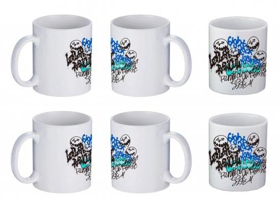 <img class='new_mark_img1' src='https://img.shop-pro.jp/img/new/icons1.gif' style='border:none;display:inline;margin:0px;padding:0px;width:auto;' />【LEFLAH】self graffiti mug cup 2-piece set (WHT×WHT)