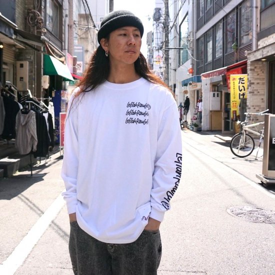 <img class='new_mark_img1' src='https://img.shop-pro.jp/img/new/icons1.gif' style='border:none;display:inline;margin:0px;padding:0px;width:auto;' />【LEFLAH】tiresome long tee(WHT)