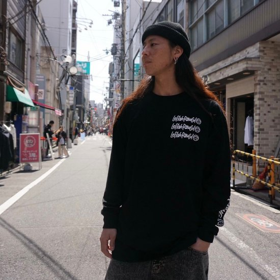 <img class='new_mark_img1' src='https://img.shop-pro.jp/img/new/icons1.gif' style='border:none;display:inline;margin:0px;padding:0px;width:auto;' />【LEFLAH】tiresome long tee(BLK)