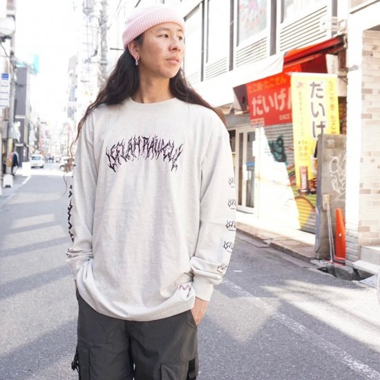 <img class='new_mark_img1' src='https://img.shop-pro.jp/img/new/icons1.gif' style='border:none;display:inline;margin:0px;padding:0px;width:auto;' />【LEFLAH】spine-chilling long tee(NAL)