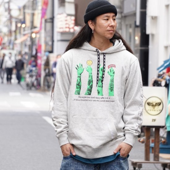 <img class='new_mark_img1' src='https://img.shop-pro.jp/img/new/icons1.gif' style='border:none;display:inline;margin:0px;padding:0px;width:auto;' />【LEFLAH】621 sign parka(GRY)