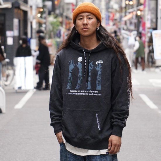 <img class='new_mark_img1' src='https://img.shop-pro.jp/img/new/icons1.gif' style='border:none;display:inline;margin:0px;padding:0px;width:auto;' />【LEFLAH】621 sign parka(BLK)
