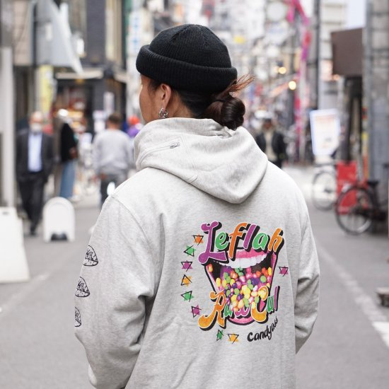 <img class='new_mark_img1' src='https://img.shop-pro.jp/img/new/icons1.gif' style='border:none;display:inline;margin:0px;padding:0px;width:auto;' />【LEFLAH】candy ass parka(GRY)