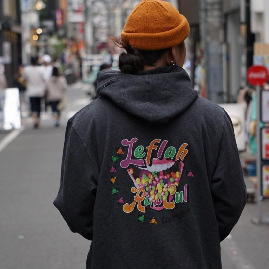 <img class='new_mark_img1' src='https://img.shop-pro.jp/img/new/icons1.gif' style='border:none;display:inline;margin:0px;padding:0px;width:auto;' />【LEFLAH】candy ass parka(BLK)