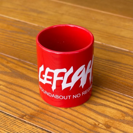 <img class='new_mark_img1' src='https://img.shop-pro.jp/img/new/icons1.gif' style='border:none;display:inline;margin:0px;padding:0px;width:auto;' />【LEFLAH】main logo mug cup(RED)