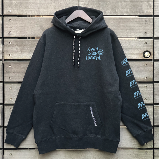 <img class='new_mark_img1' src='https://img.shop-pro.jp/img/new/icons1.gif' style='border:none;display:inline;margin:0px;padding:0px;width:auto;' />【LEFLAH】one by one parka(BLK/L.BLU) ※先着限定ネックストラップ付き