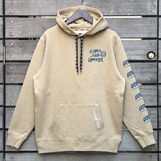 <img class='new_mark_img1' src='https://img.shop-pro.jp/img/new/icons1.gif' style='border:none;display:inline;margin:0px;padding:0px;width:auto;' />【LEFLAH】one by one parka(BEG/BLU) ※先着限定ネックストラップ付き