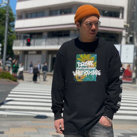 <img class='new_mark_img1' src='https://img.shop-pro.jp/img/new/icons1.gif' style='border:none;display:inline;margin:0px;padding:0px;width:auto;' />【LEFLAH】your side long tee(BLK) ※限定100個マスクストラップ付き