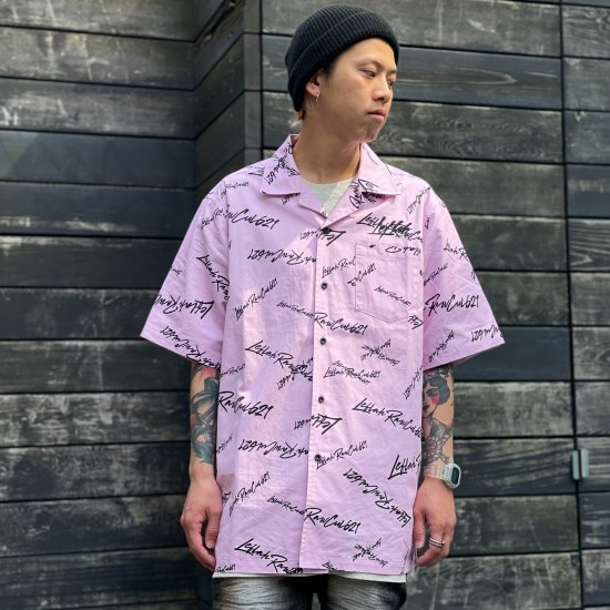 <img class='new_mark_img1' src='https://img.shop-pro.jp/img/new/icons1.gif' style='border:none;display:inline;margin:0px;padding:0px;width:auto;' />【LEFLAH】k love sign open collar shirt(PNK)