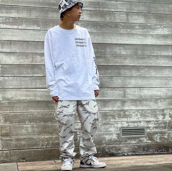<img class='new_mark_img1' src='https://img.shop-pro.jp/img/new/icons1.gif' style='border:none;display:inline;margin:0px;padding:0px;width:auto;' />【LEFLAH】k love sign easy pants (WHT)