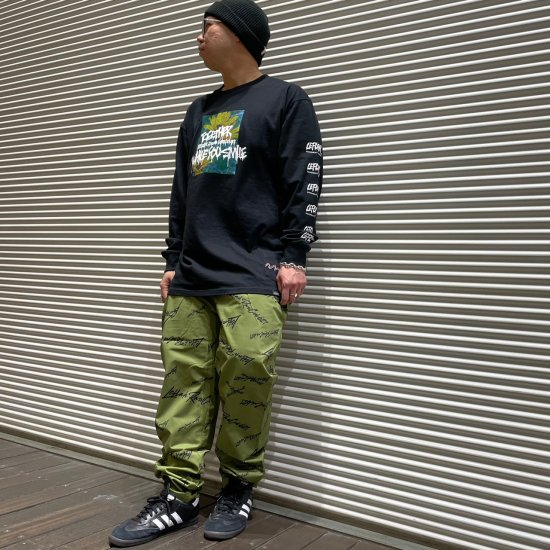 <img class='new_mark_img1' src='https://img.shop-pro.jp/img/new/icons1.gif' style='border:none;display:inline;margin:0px;padding:0px;width:auto;' />【LEFLAH】k love sign easy pants (KHA)