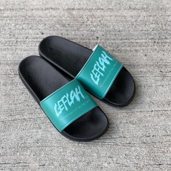 【LEFLAH】main logo slide sandals (EMD)