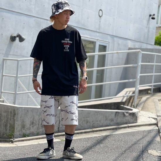 【LEFLAH】k love sign short pants(WHT)