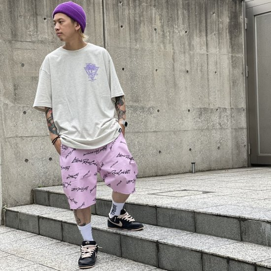 <img class='new_mark_img1' src='https://img.shop-pro.jp/img/new/icons1.gif' style='border:none;display:inline;margin:0px;padding:0px;width:auto;' />【LEFLAH】k love sign short pants(PNK)