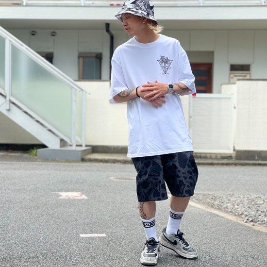 【LEFLAH】cowflage short pants (BLK)
