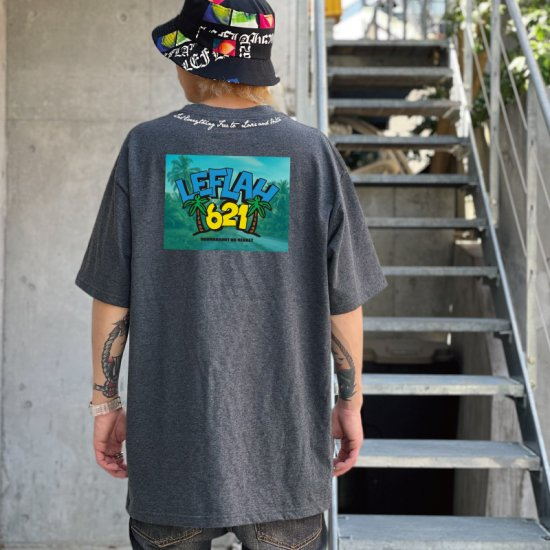 <img class='new_mark_img1' src='https://img.shop-pro.jp/img/new/icons1.gif' style='border:none;display:inline;margin:0px;padding:0px;width:auto;' />【LEFLAH】621 aloha tee(GRY)