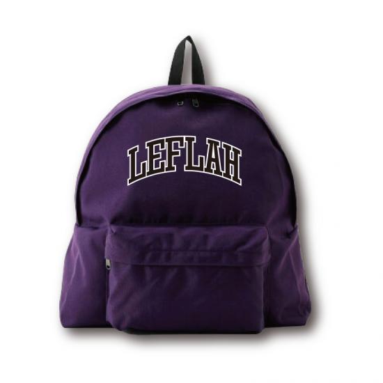 【LEFLAH】 arch logo daypack (PPL)