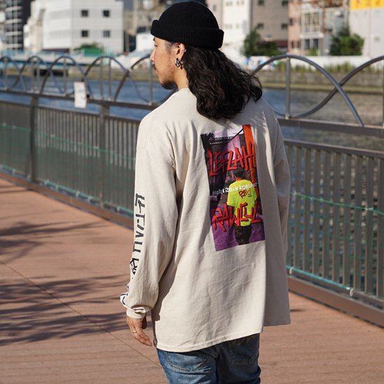 <img class='new_mark_img1' src='https://img.shop-pro.jp/img/new/icons1.gif' style='border:none;display:inline;margin:0px;padding:0px;width:auto;' />【LEFLAH】sticky long tee(BEG)