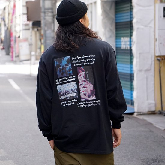 <img class='new_mark_img1' src='https://img.shop-pro.jp/img/new/icons1.gif' style='border:none;display:inline;margin:0px;padding:0px;width:auto;' />【LEFLAH】remind yourself long tee(BLK)