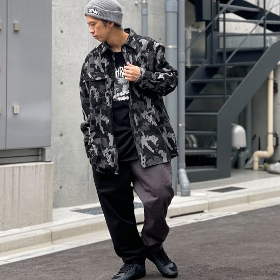 <img class='new_mark_img1' src='https://img.shop-pro.jp/img/new/icons2.gif' style='border:none;display:inline;margin:0px;padding:0px;width:auto;' />【LEFLAH】bi-color twill easy pants(BLK×CHA)