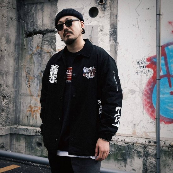 <img class='new_mark_img1' src='https://img.shop-pro.jp/img/new/icons1.gif' style='border:none;display:inline;margin:0px;padding:0px;width:auto;' />【LEFLAH】6211 military jacket (BLK)