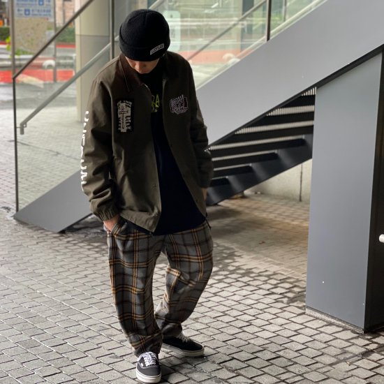 <img class='new_mark_img1' src='https://img.shop-pro.jp/img/new/icons1.gif' style='border:none;display:inline;margin:0px;padding:0px;width:auto;' />【LEFLAH】3col. wool check easy pants(GRY)