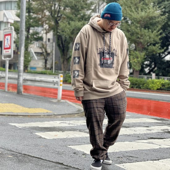 <img class='new_mark_img1' src='https://img.shop-pro.jp/img/new/icons1.gif' style='border:none;display:inline;margin:0px;padding:0px;width:auto;' />【LEFLAH】3col. wool check easy pants(BRW)