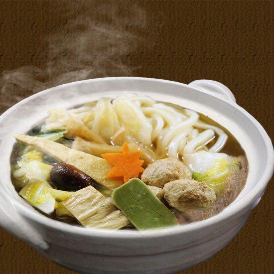 【冷凍】レンチン可のちゃんこうどん 1個(醤油or豆乳)
