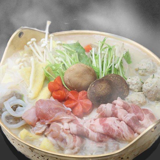 〈京の銘酒・英勲大吟醸〉酒粕ちゃんこ鍋