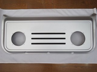 バックドアスピーカーボード|美品保管品<br>撮影用【シルバー】