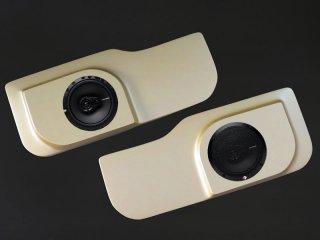 フロントドアスピーカーボード&スピーカーセット[塗装付/ゴールド]<br>ジムニーJB23W/33W/43W