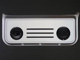 バックドアスピーカーボード&スピーカーセット[塗装付/シルバー]<br>ジムニーJB23W/33W/43W