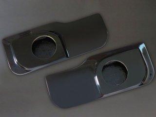 フロントドアスピーカーボード&フロントピラーツイーターパネルセット[未塗装/黒ゲル]